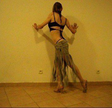 Collection printemps fille sauvage jupe courte jean déchiré brassière soutien-gorge string taille basse