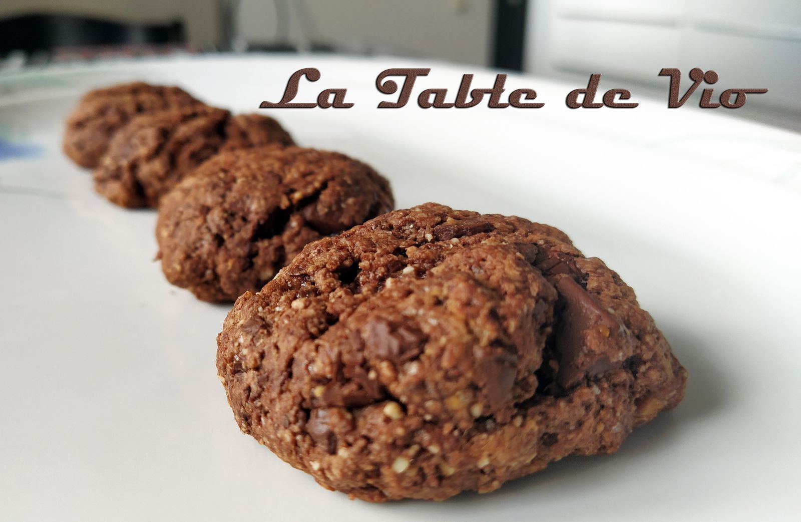Cookies healthy tout choco