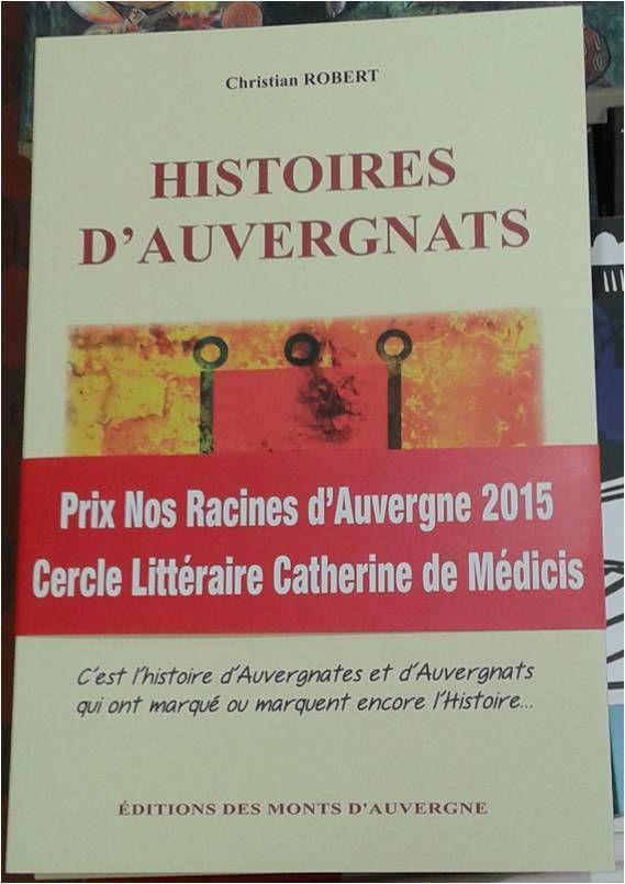 Livre HISTOIRES D'AUVERGNATS