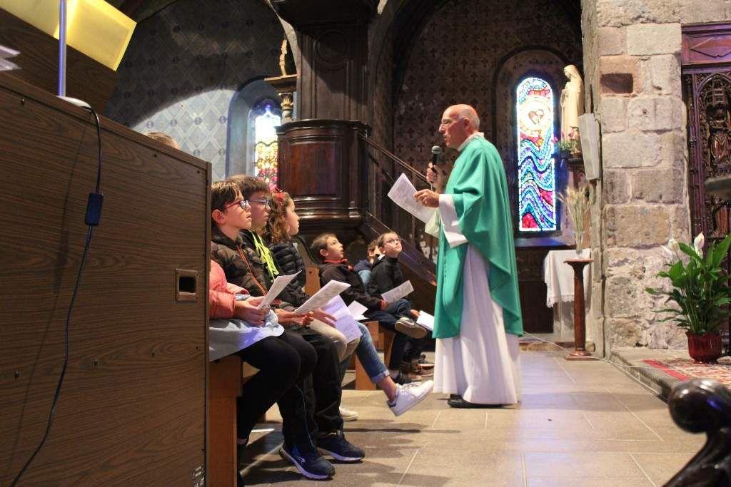 MESSE DES FAMILLES St CERNIN Le 06/10/2019
