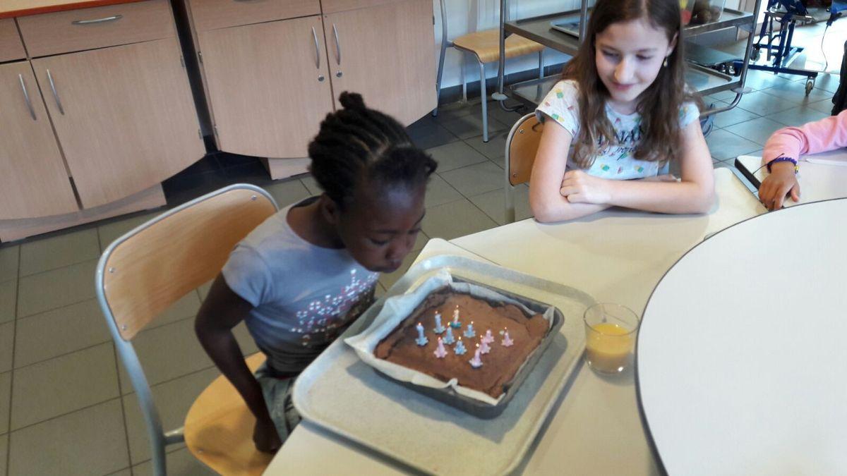 Atelier pâtisserie et anniversaire.