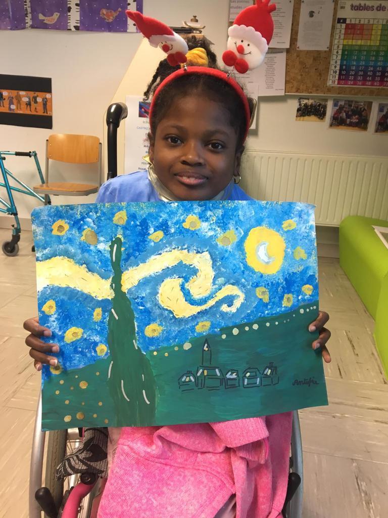 À la manière de Vincent Van Gogh