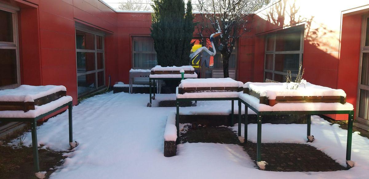 Neige en Janvier? Soleil en été!