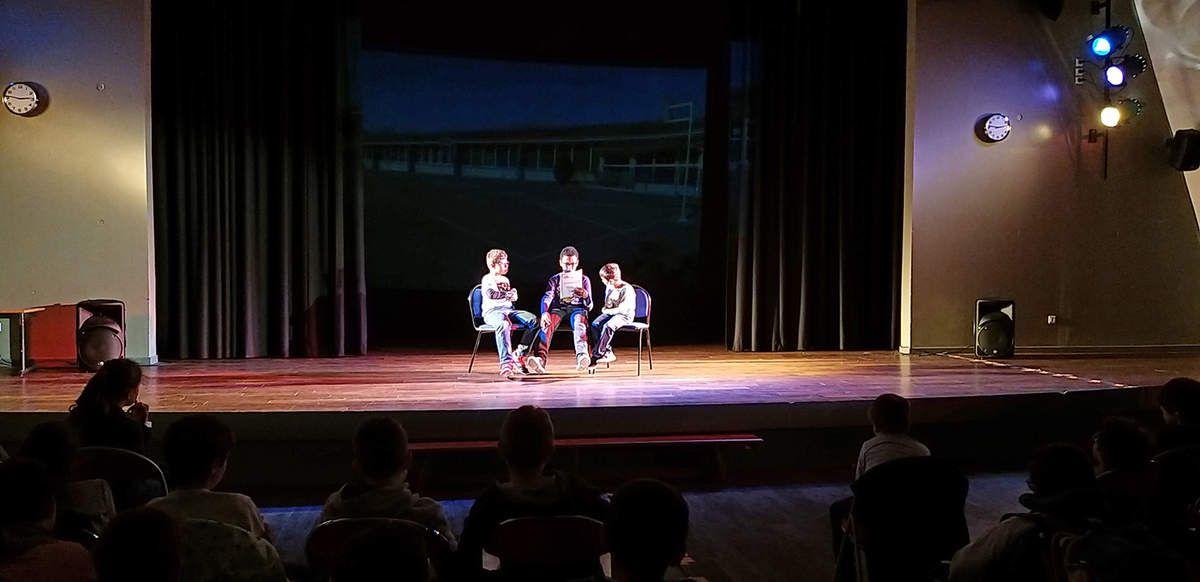 Le théâtre des CM2