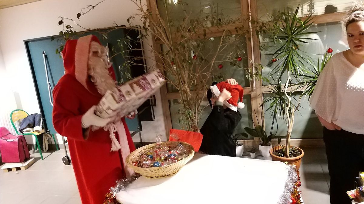 Soirée de Noël de l'internat