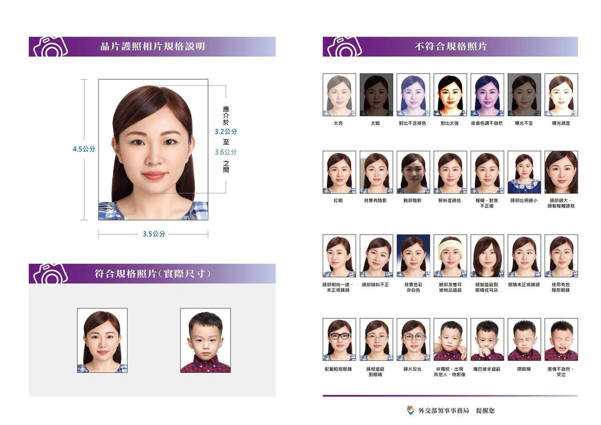 🇹🇼 Taiwan photo id passport Visa, Studio Choi-Photos Marseille