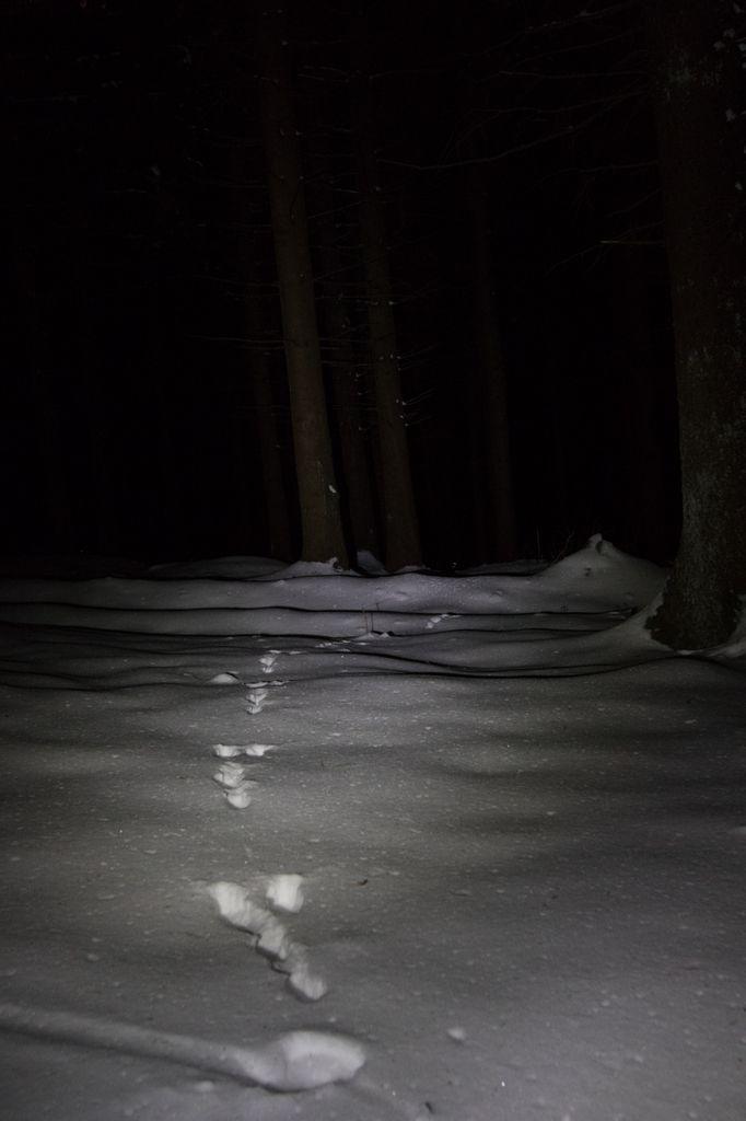 Tour Matagrin sous la neige