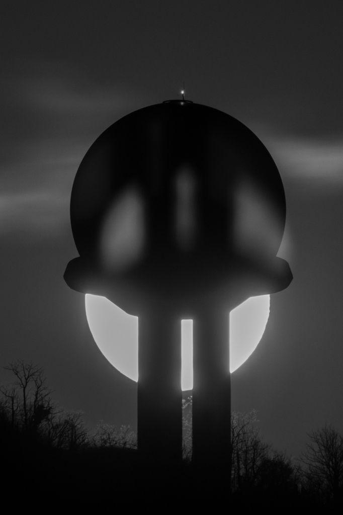 Le radar et la lune