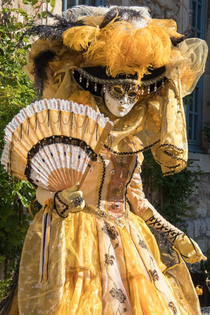 Parade vénitienne Pérouges 2017