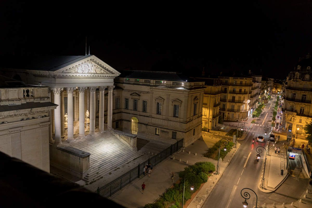 Montpellier by night
