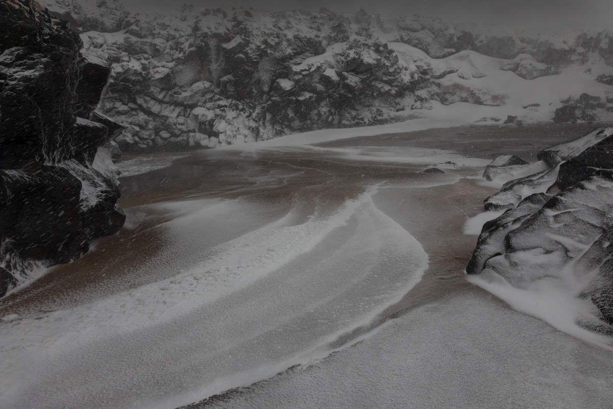 Islande en hiver - Snaefellness - J3 il neige fort