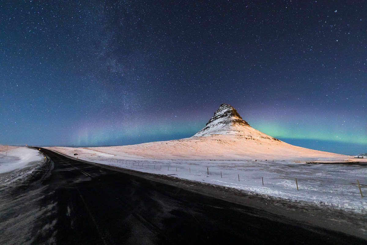 Islande en hiver - Snaefellness - J2 Aaaaah la belle aurore boréale !