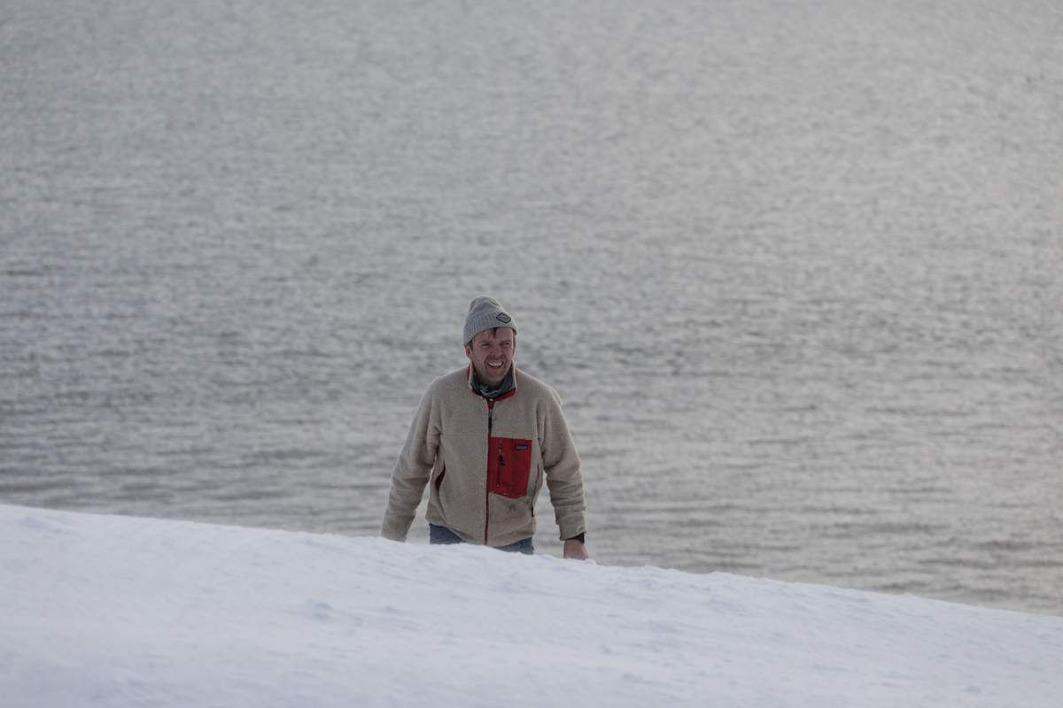 Islande en hiver - Hornstrandir - J6 Refuge et premier renard