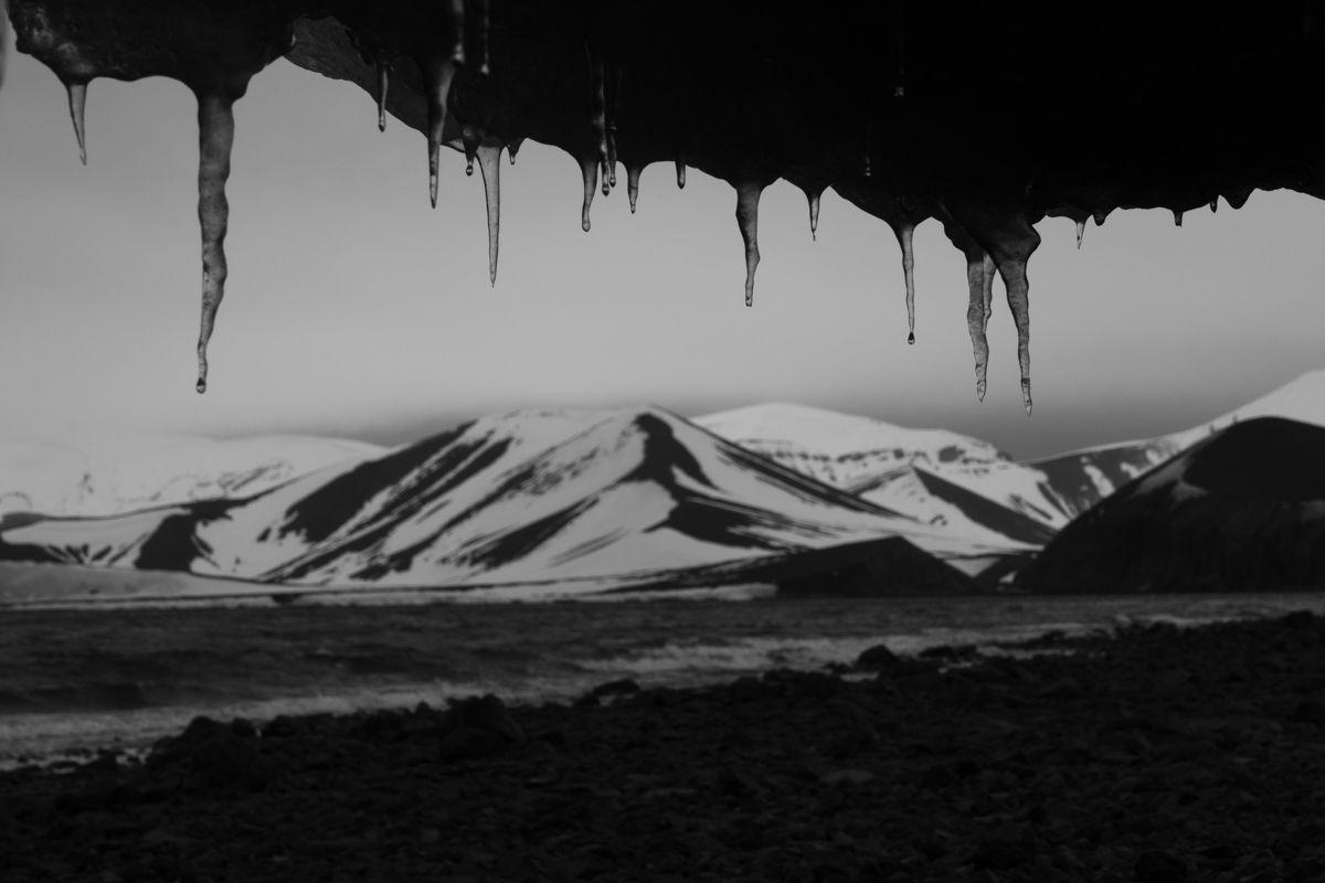 Antarctique - grisailles