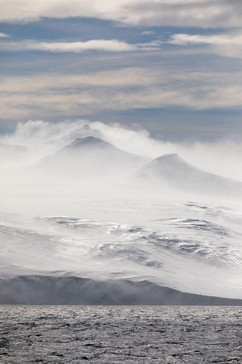 Antarctique - continent blanc