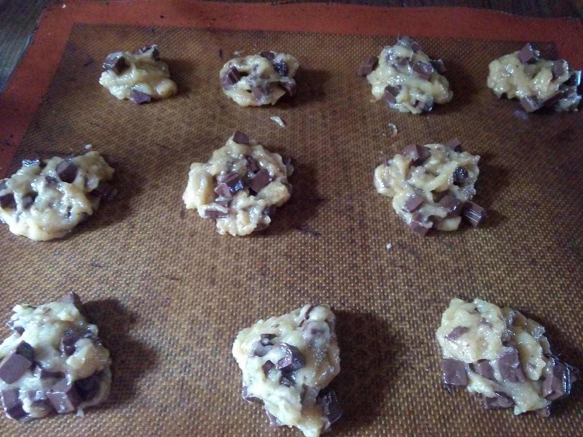 Cookies au chocolat au lait