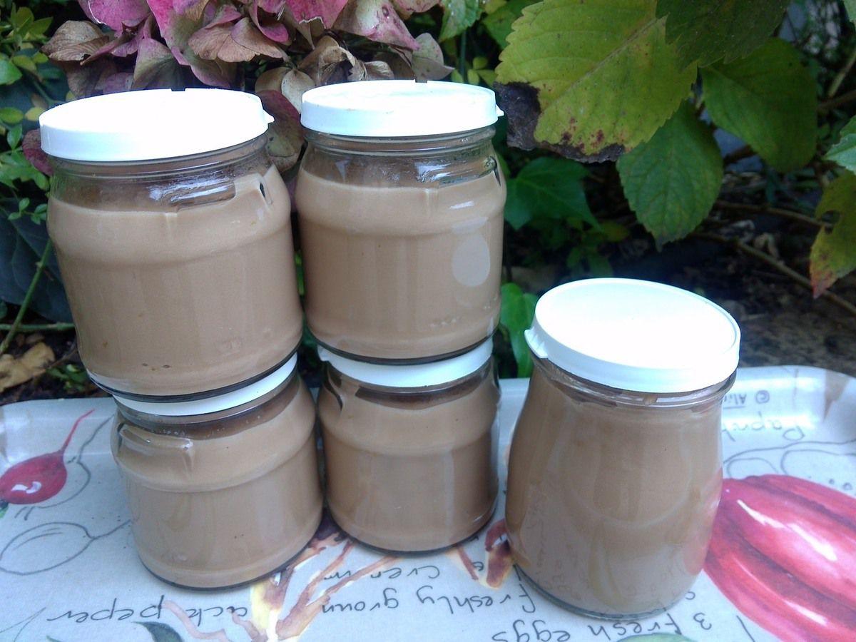 Petits pots de crème au carambar (recette au cook'in)