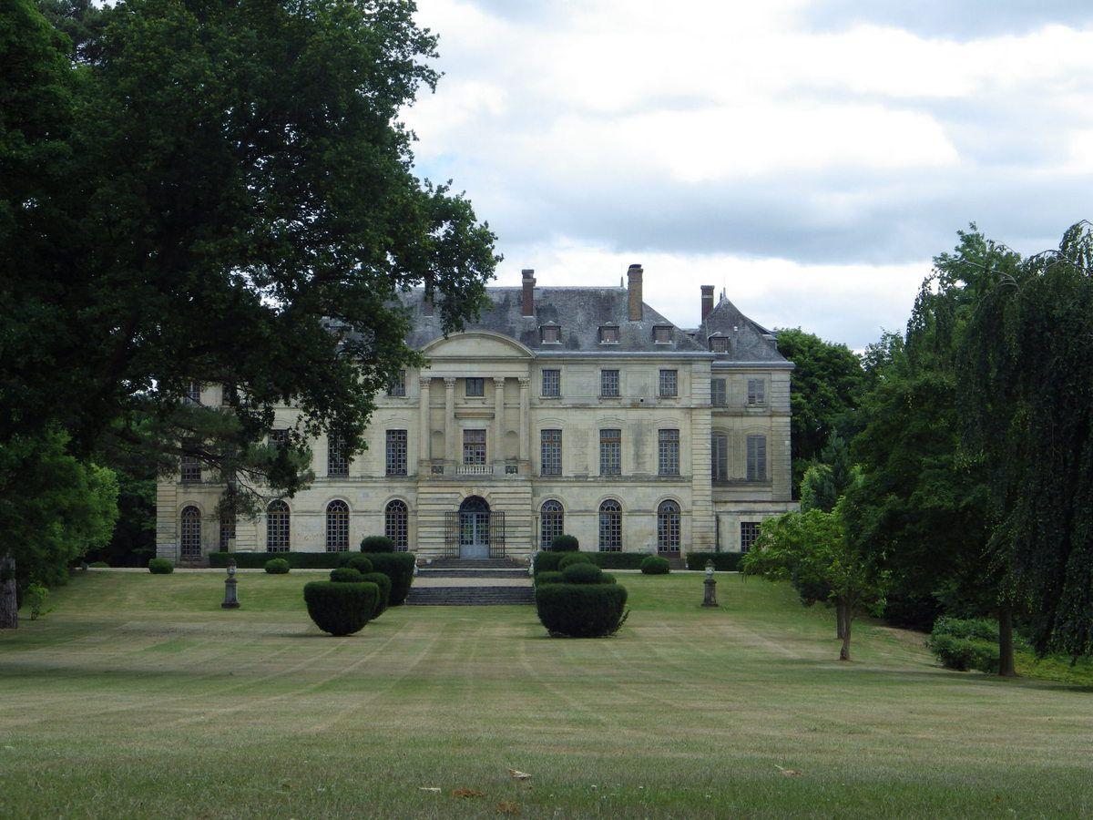Visite du Chateau de Montgobert