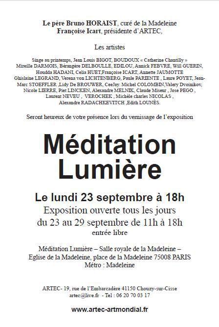 Exposition à La Madeleine avec nos ursidés Laure Poyet et Piet Lincken