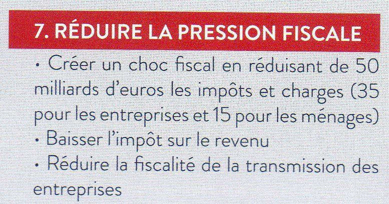 FISCALITE : LES FAUSSES PROMESSES DE JF COPE