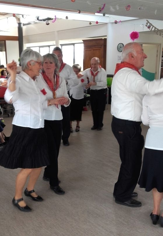 ANIMATION DANSE ET CHANTS: LES JARDINS  DE ST ILLIDE