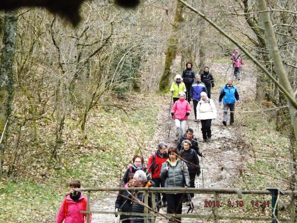 RANDO St ETIENNE CANTALES 19/03/2018