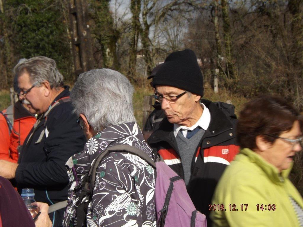 RANDO REILHAC - DIAPORAMA ET ANNIVERSAIRES 17/12/2018