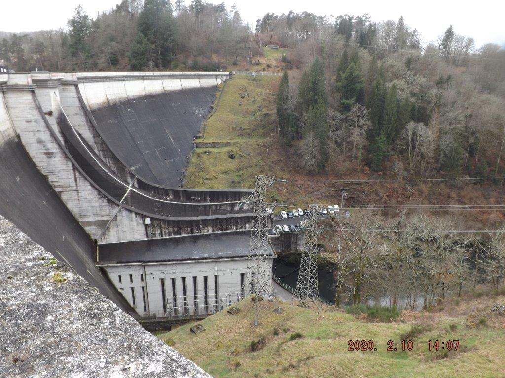 RANDO: Barrage de St ÉTIENNE CANTALÈS 10/02/2020