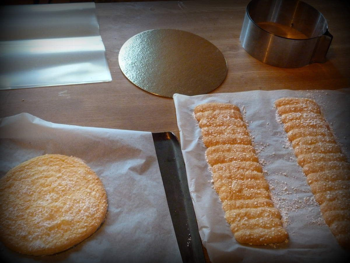 Les biscuits cuillers