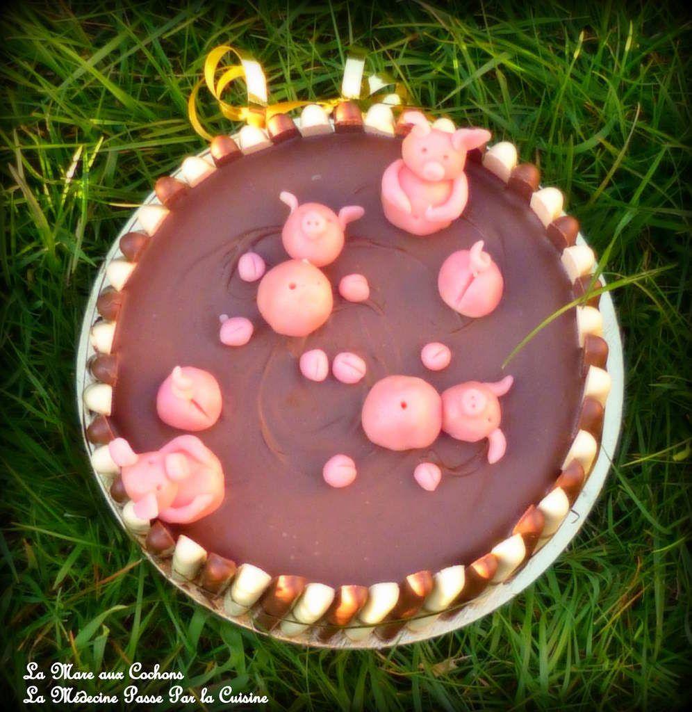 La mare aux cochons pour les chocolatines