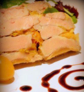 """Terrine de foie gras """"minute"""" à la mirabelle"""