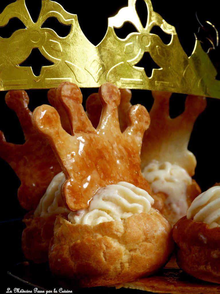 Galette des rois comme une couronne glacée à la bergamote - Battle Food 39