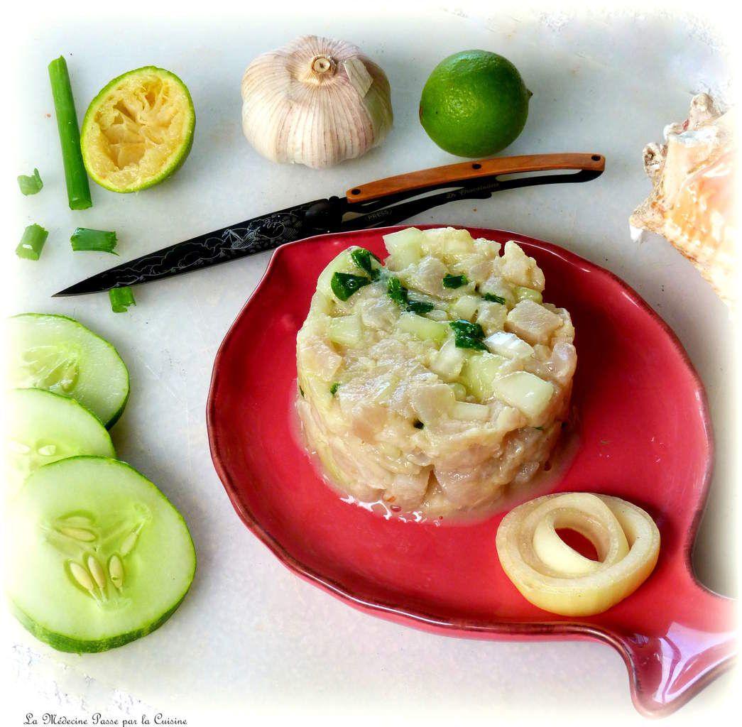 Tartare de marlin au couteau - parce que Deejo, c'est le couteau qu'il vous faut