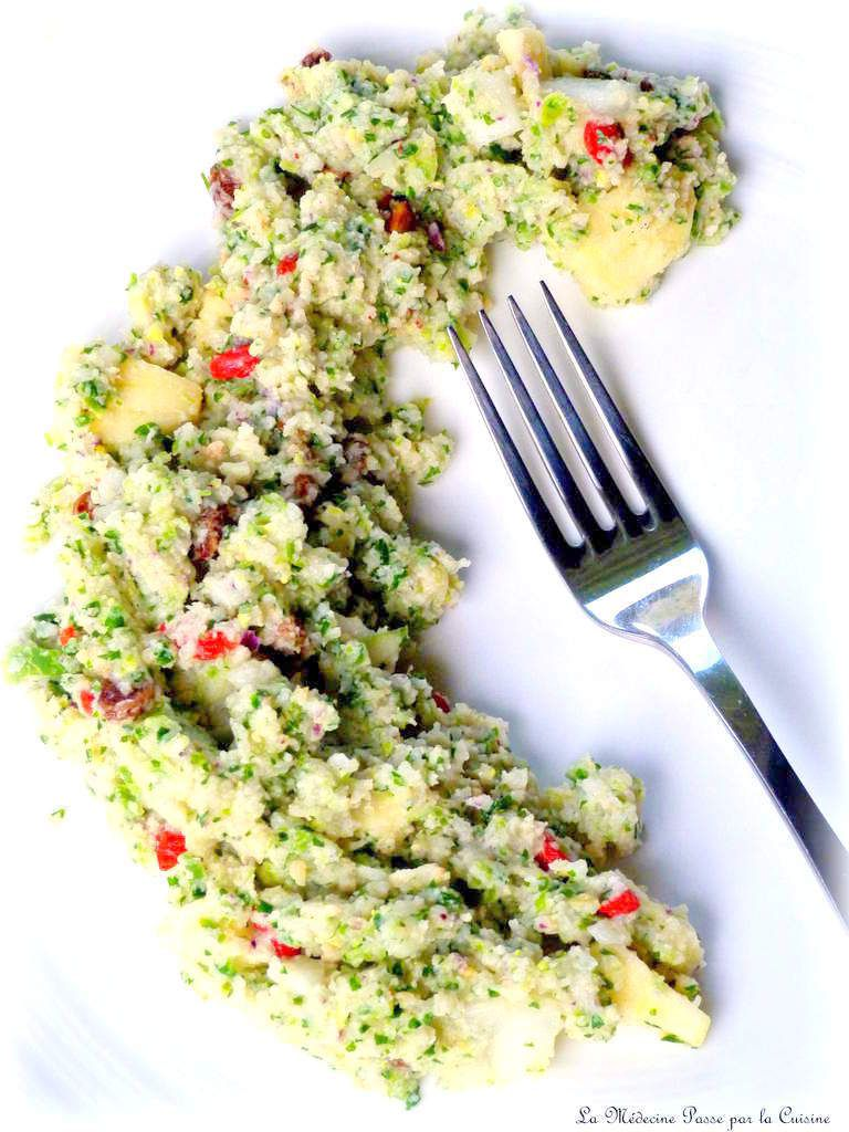 Taboulé de concombre express