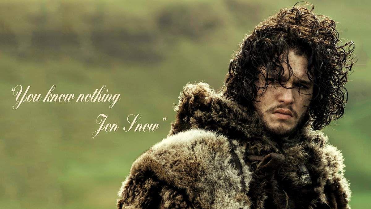 Jon, pense à sourire un peu...et à passer chez le coiffeur :-)