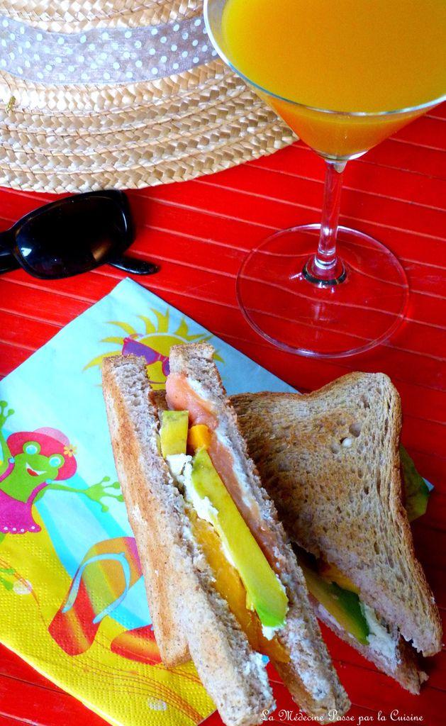 Sandwich comme un arc en ciel entre Guadeloupe et Normandie