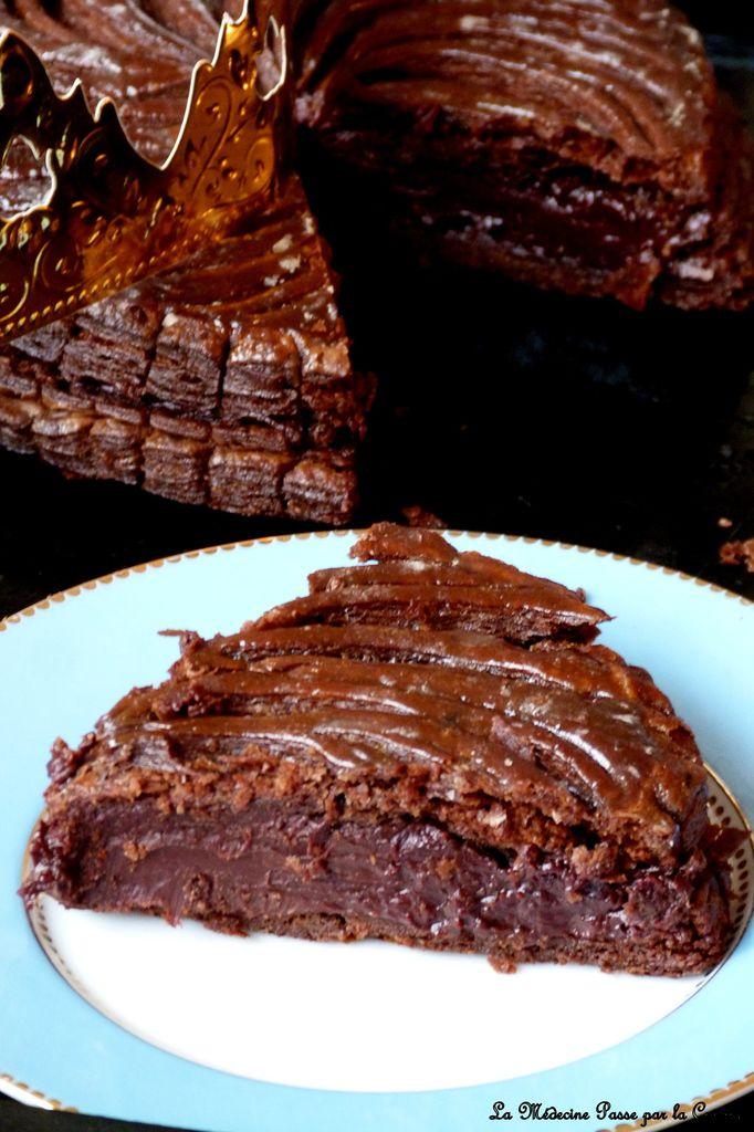 Galette des rois infiniment chocolat de Pierre Hermé