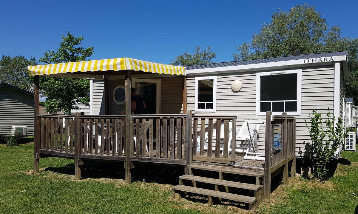 Bungalow Camping Chateauneuf de Galaure Vacansoleil