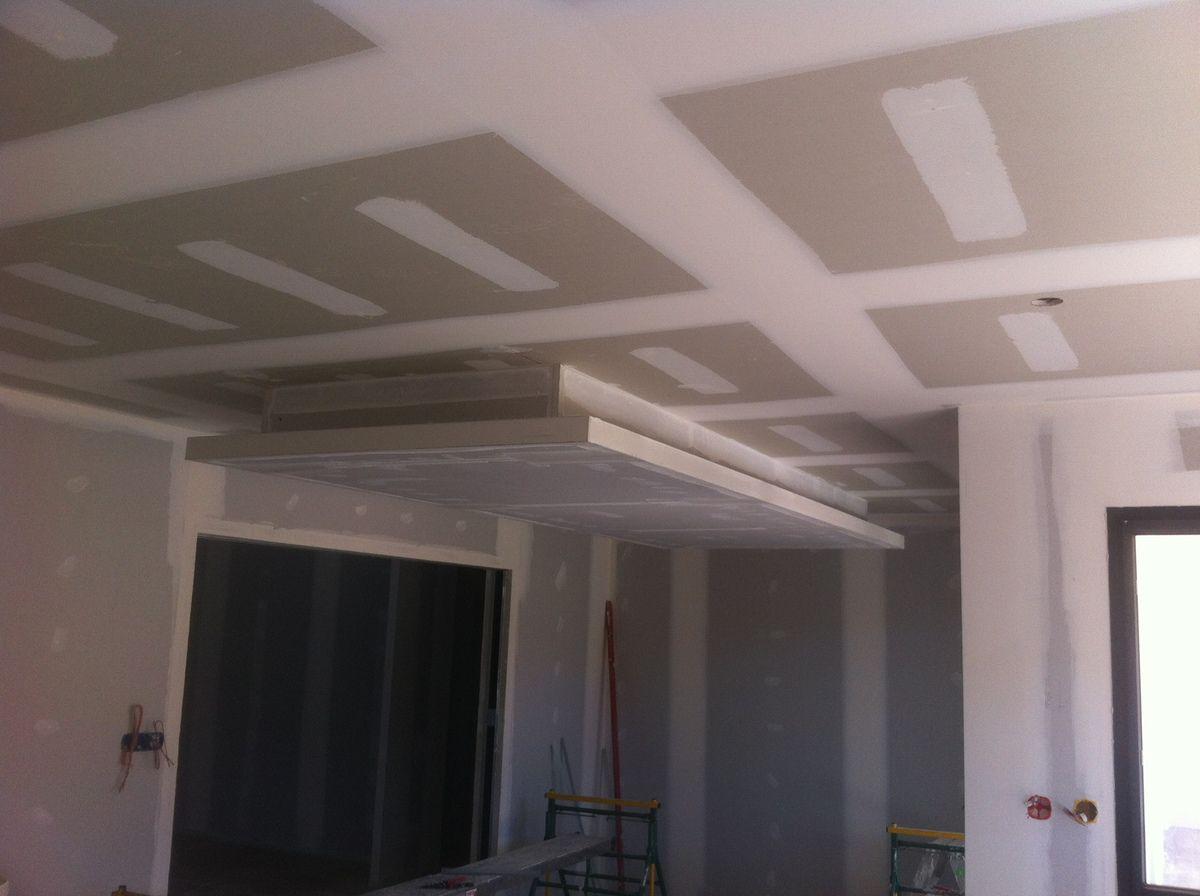Faux Plafond Suspendu Cuisine création d'un plafond suspendu décoratif (12 photos) - sarl