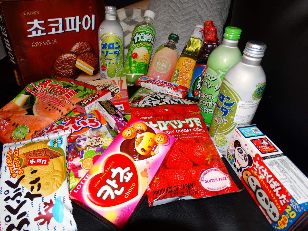 Haul - Sucreries japonaises et coréennes