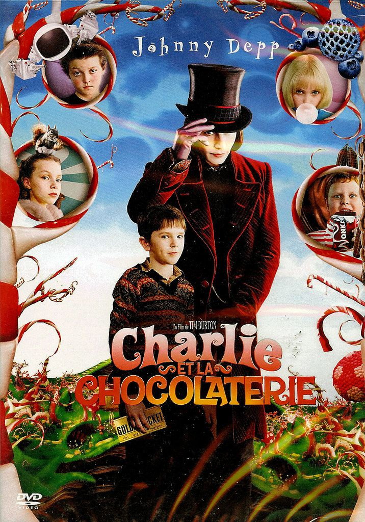 Charlie et la chocolaterie [Film USA / Angleterre]
