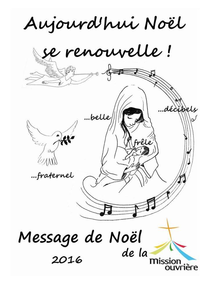 Message de Noël 2016