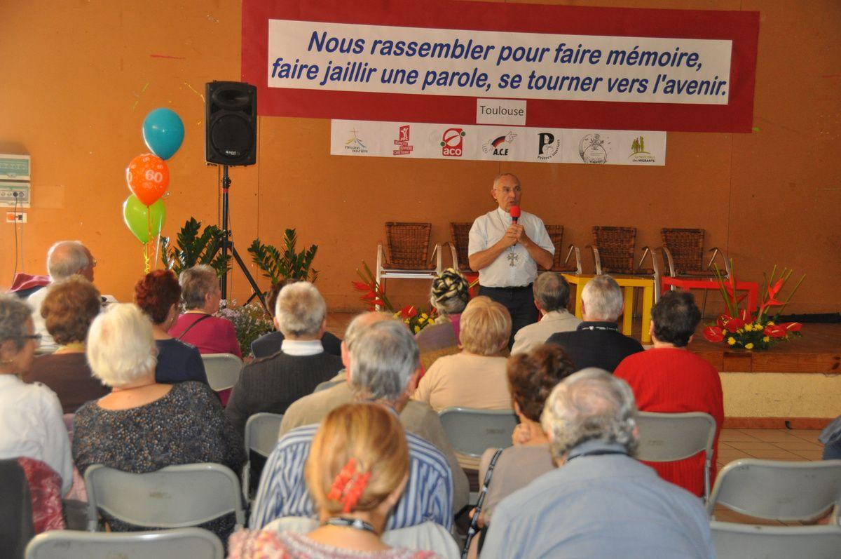 60 ans de Mission Ouvrière de Toulouse, fêtés le 14 octobre 2017 : Un anniversaire de la Mission ouvrière ouvert aux croyants et aux non-croyants ainsi qu'à toutes les personnes avec qui les militants sont en relation tous les jours