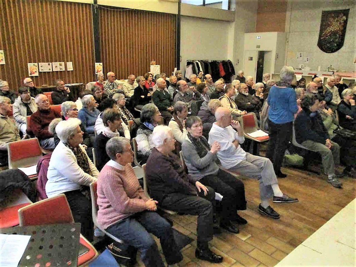 Retour sur la fête des 60 ans de la Mission Ouvrière à Grenoble le 16 décembre 2017