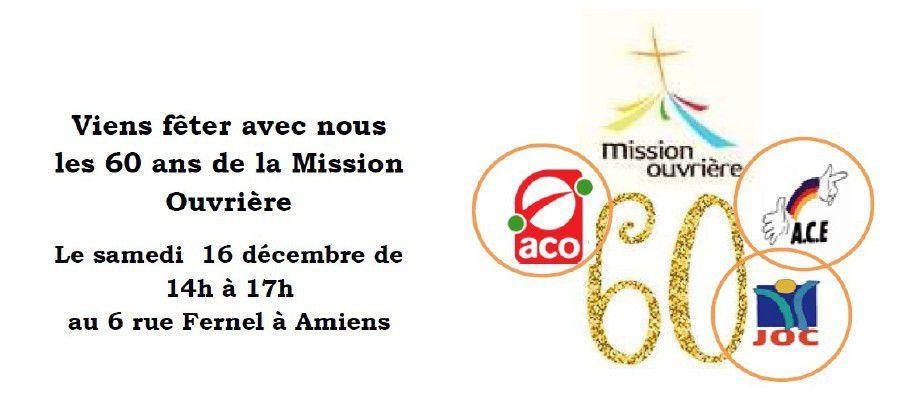 Retour sur la fête des 60 ans à Amiens le 16 décembre 2017