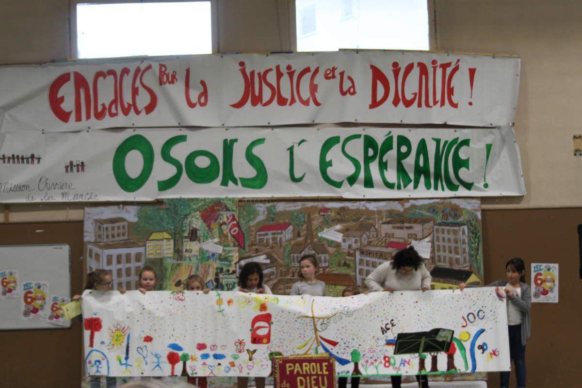 """Retour sur la fête des 60 ans de la Mission Ouvrière, """"Fêt'Ensemble"""" le 17 mars 2018 à Saint Lô dans la Manche"""