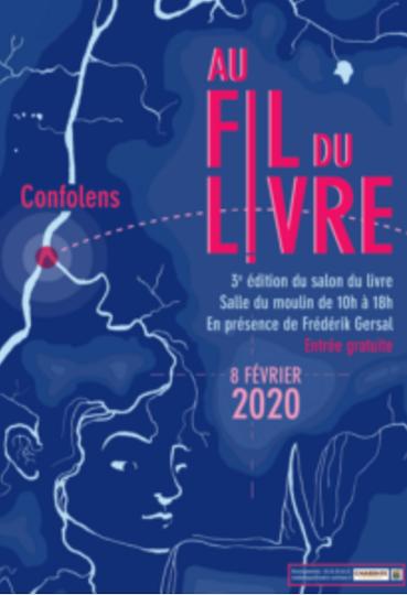 SALON DU LIVRE DE CONFOLENS LE SAMEDI 8 FÉVRIER 2020