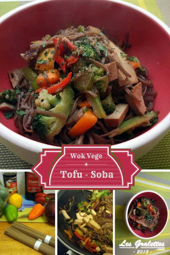 Recette : Wok tofu fumé, brocolis et nouilles sautées