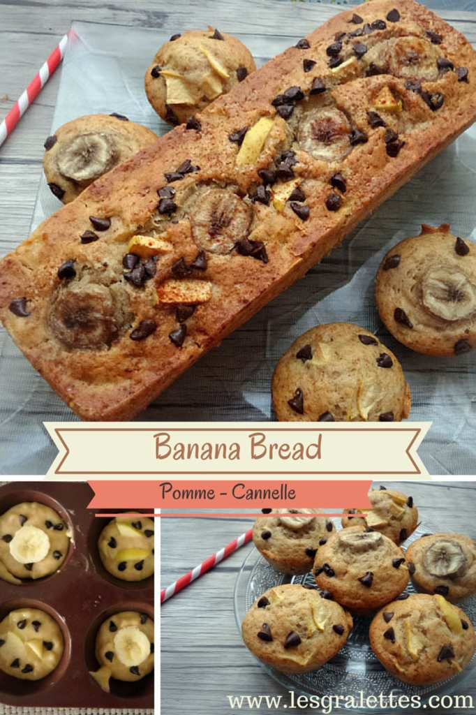 Banana Bread Pomme Cannelle