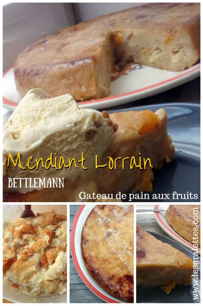 Mendiant lorrain, bettlemann, le gateau de pain aux fruits